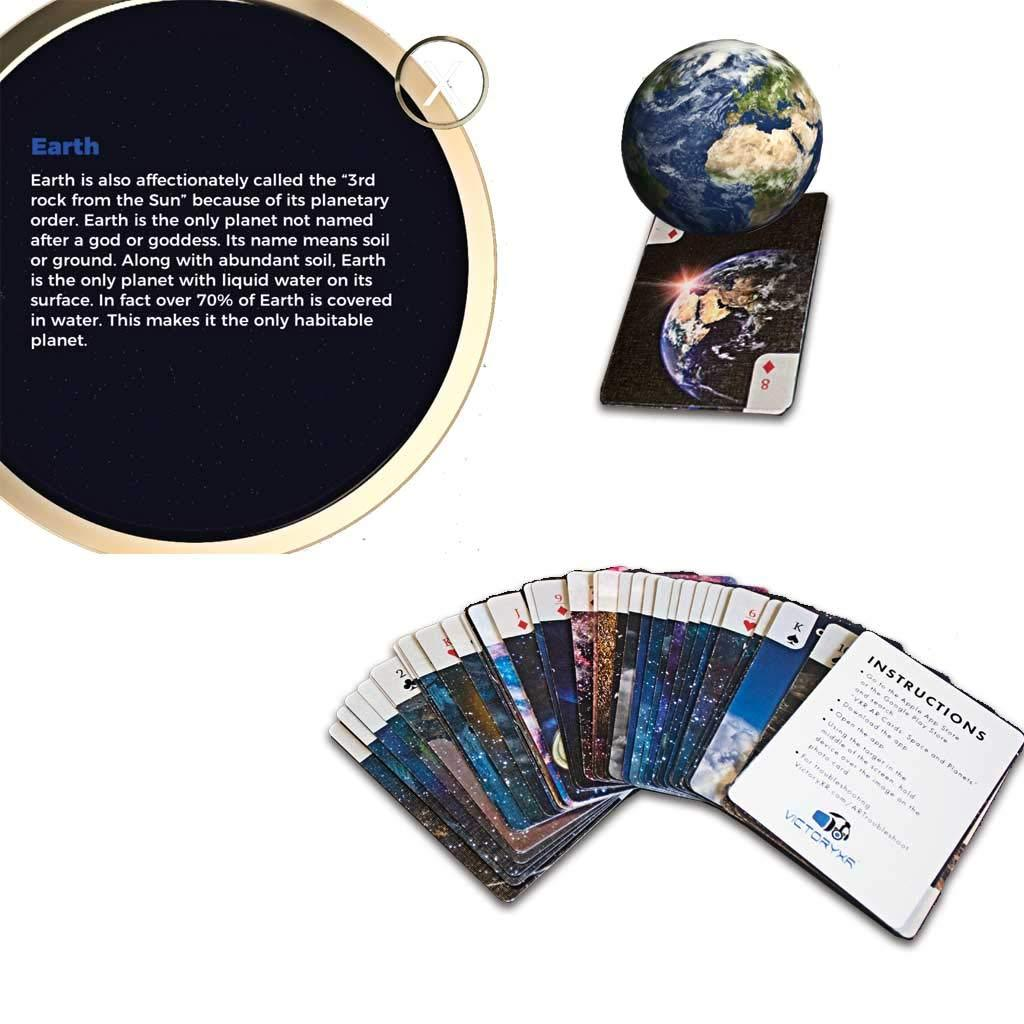 Space and Planets Augmented Reality Card Deck