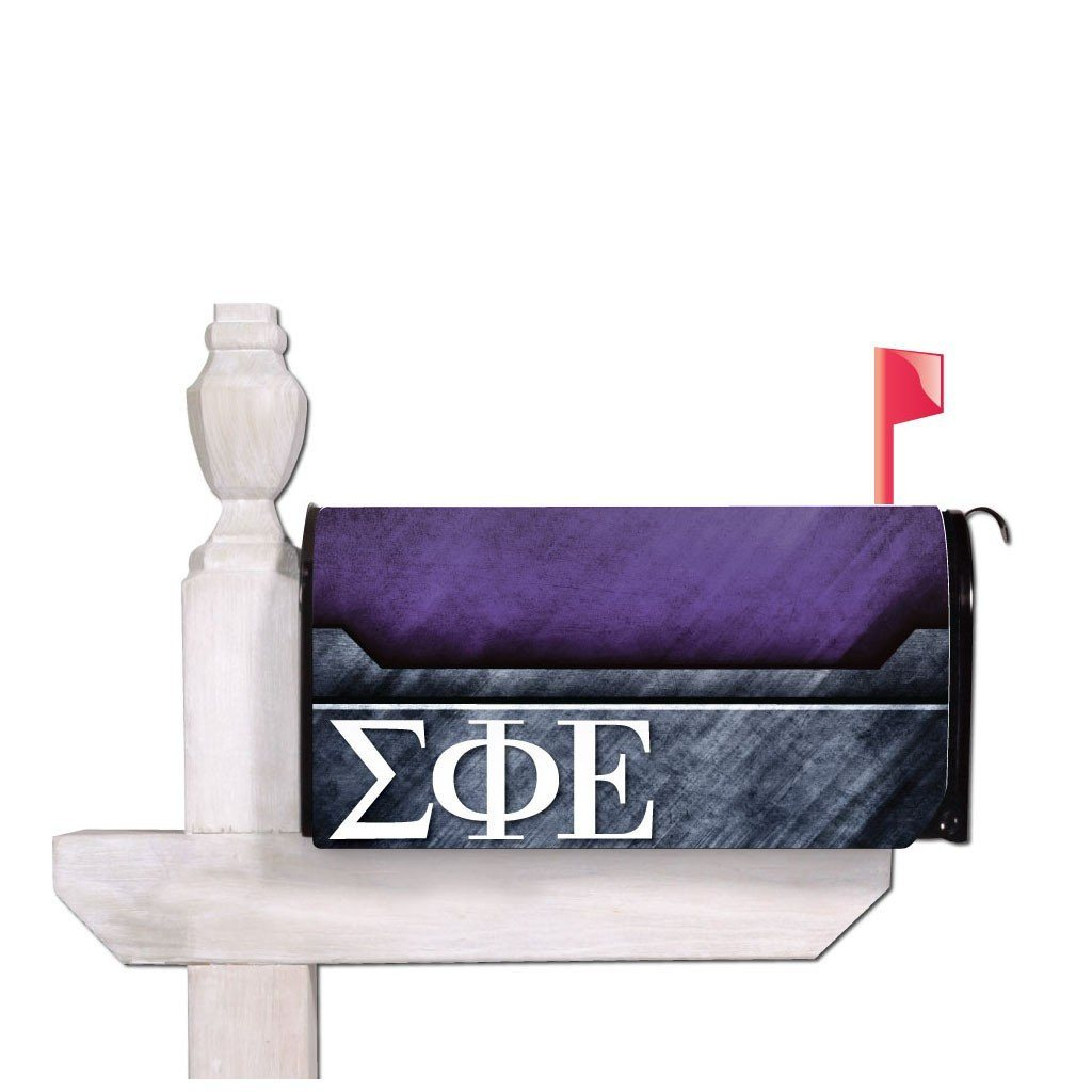 Sigma Phi Epsilon Magnetic Mailbox Cover - Design 1
