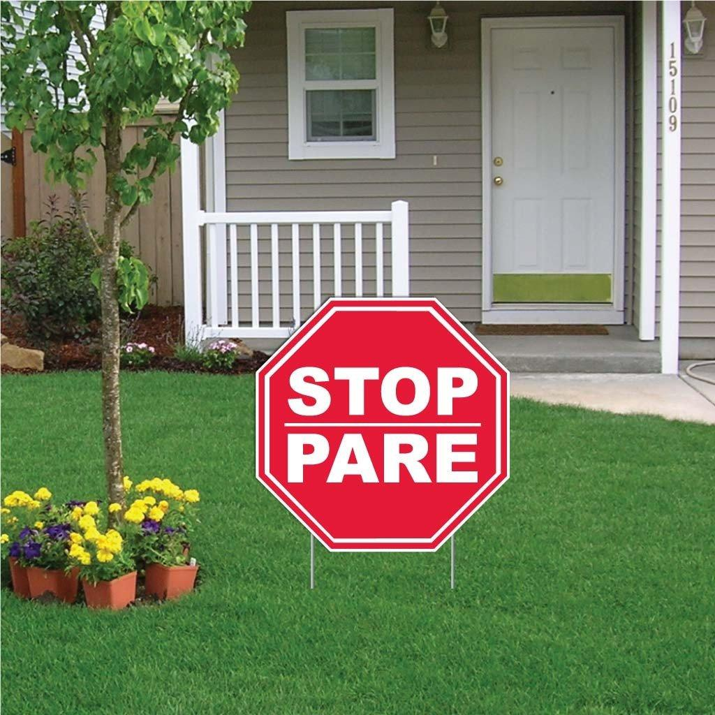 Stop/Pare Octagon Sign - #2