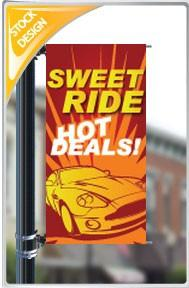 "18""x36"" Sweet ride, Hot Deals Pole Banner FREE SHIPPING"