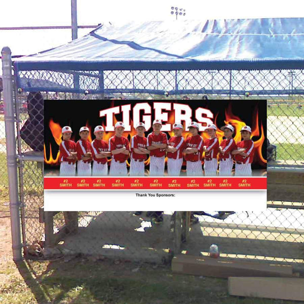high school player banner