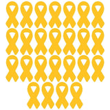 Support Our Troops Yellow Ribbon Pathway Markers - Set of 25 - Free