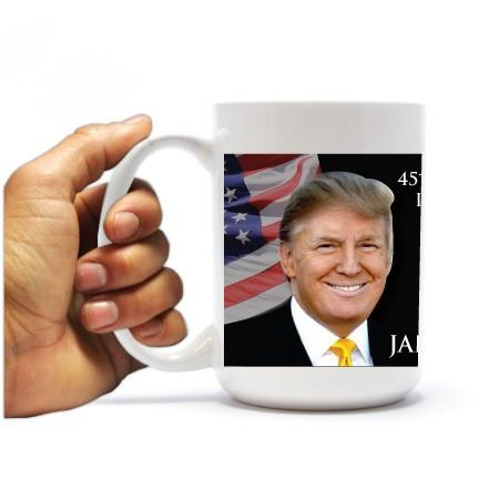 2017 45th Presidential Inauguration - Donald Trump - Coffee Mug +