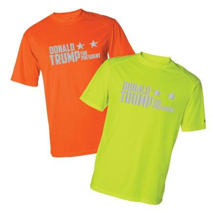 Donald Trump for President Sport SafetyRunner Reflective Performance Shirt - FREE SHIPPING