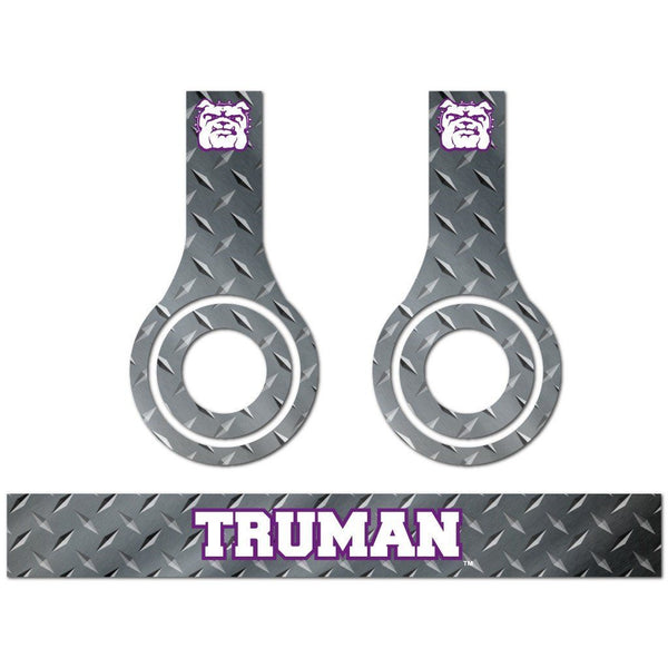 "Truman State University-3 Metal Patterns"" Skins for Beats Solo HD"
