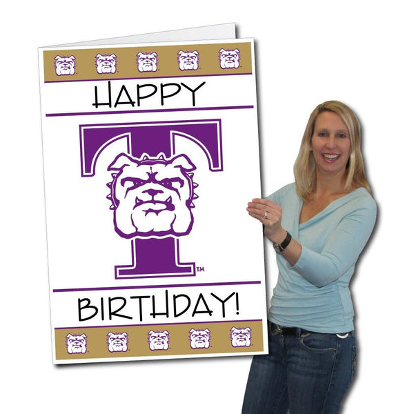 Truman State University 2'x3' Giant Birthday Greeting Card Plus a Bonus Yard Sign!