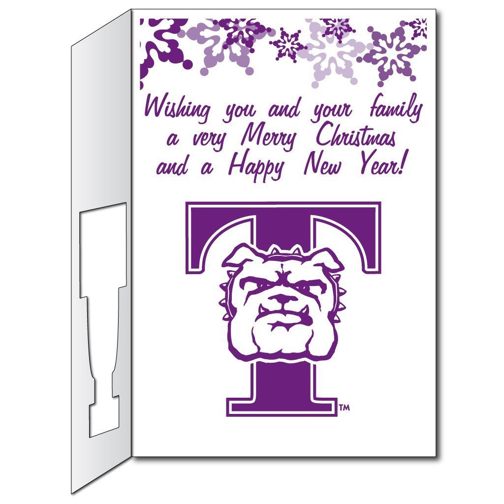 Truman State University 2'x3' Giant Christmas Greeting Card Plus a Bonus Yard Sign! - FREE SHIPPING