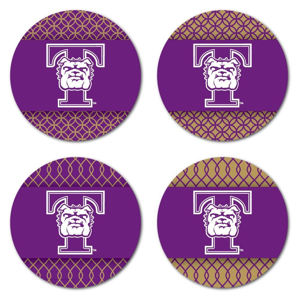 Truman State University Patterned Coaster Set of 4 - FREE SHIPPING