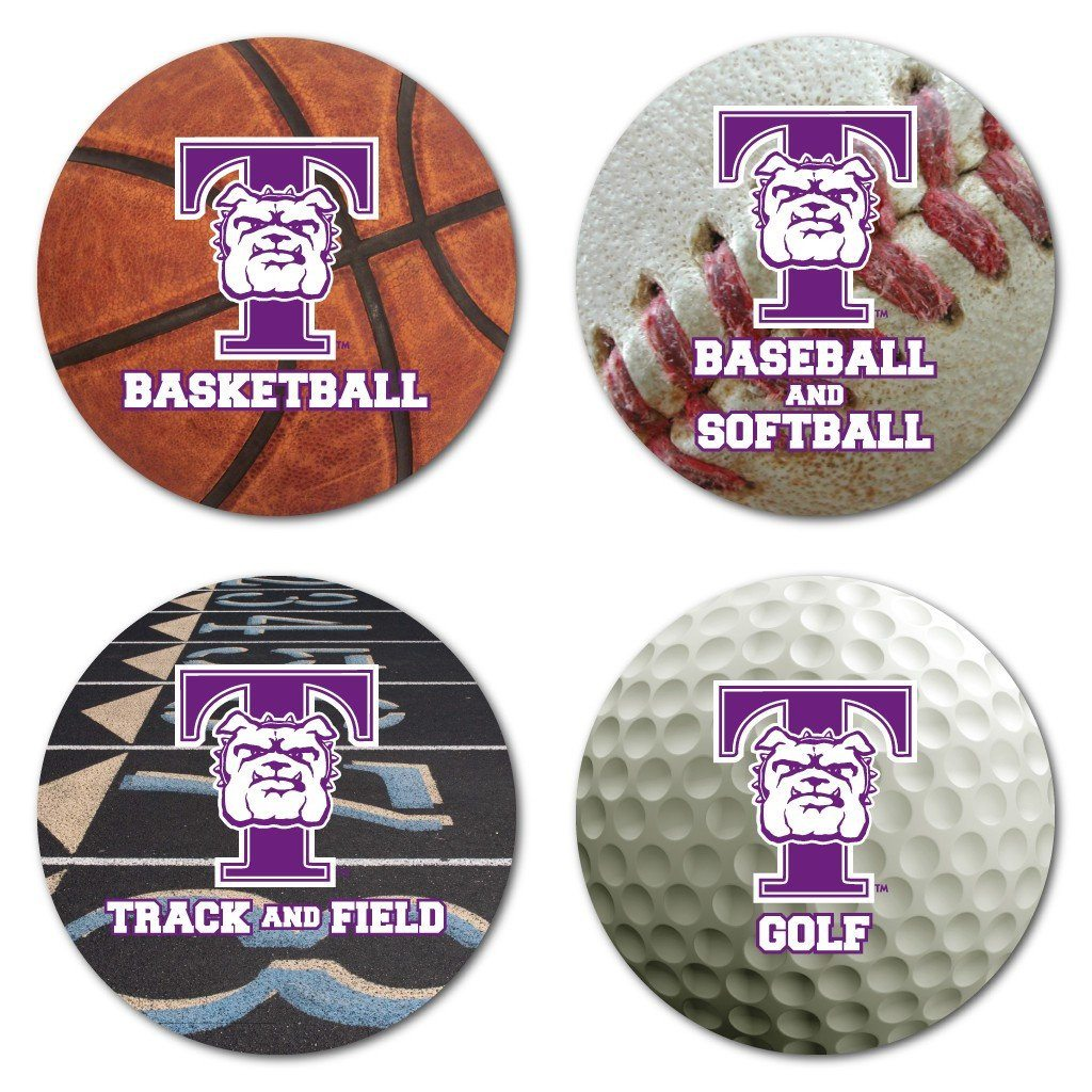 Truman State University Coaster Set - Sports Design - Set of 4