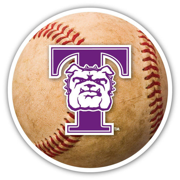 "Truman State University "" Baseball Shaped Magnet"