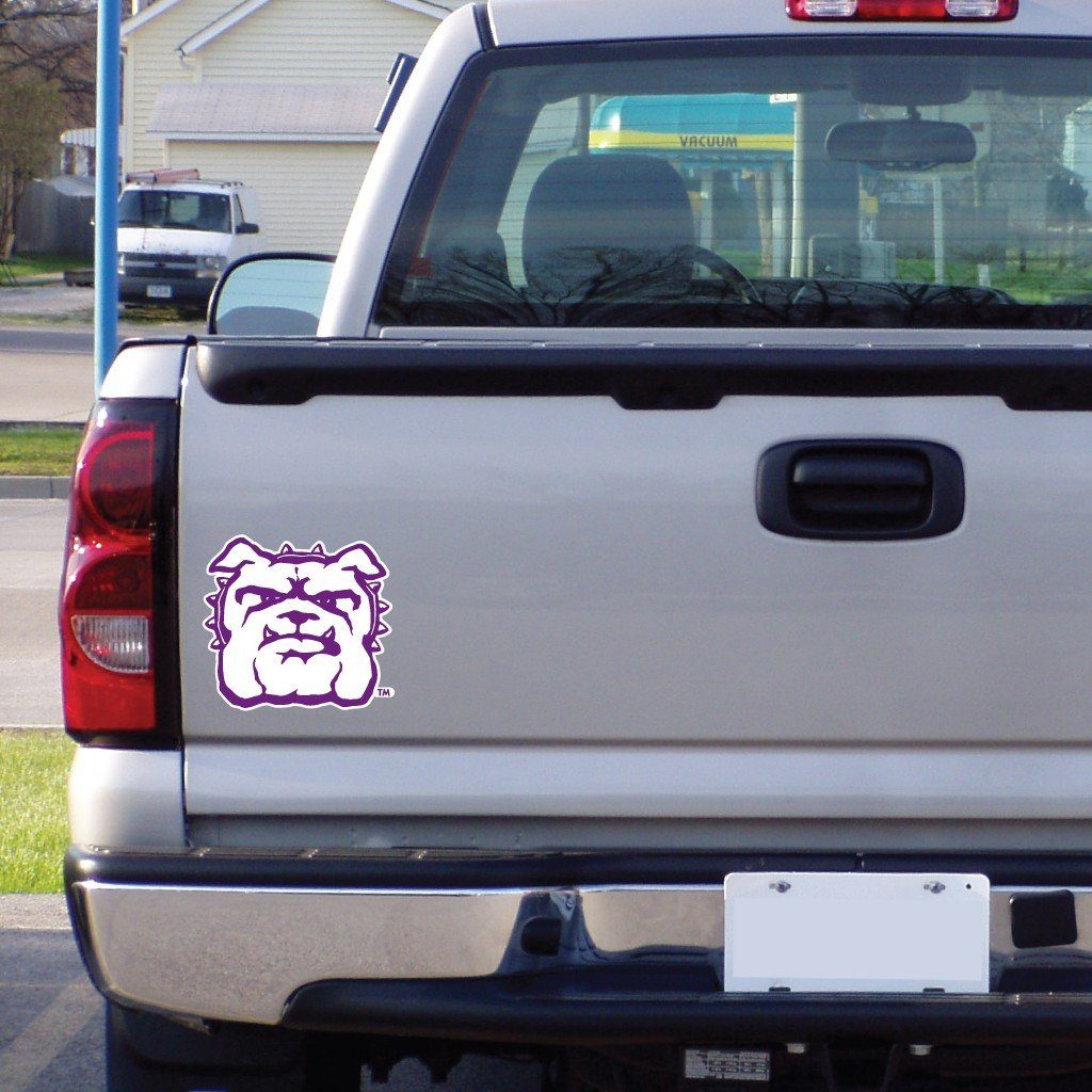 "Truman State University "" Bulldog Shaped Magnet"
