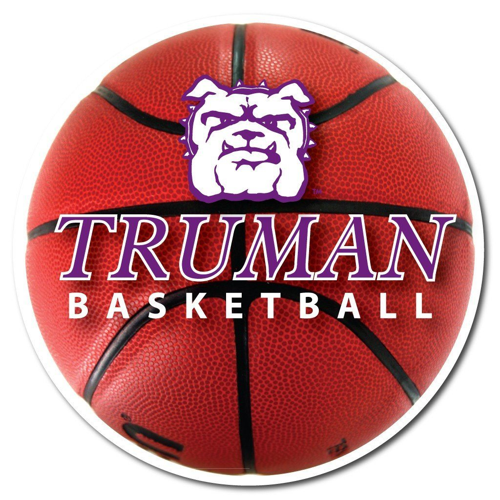 Truman State University Basketball Shaped Plastic Yard Sign - FREE SHIPPING