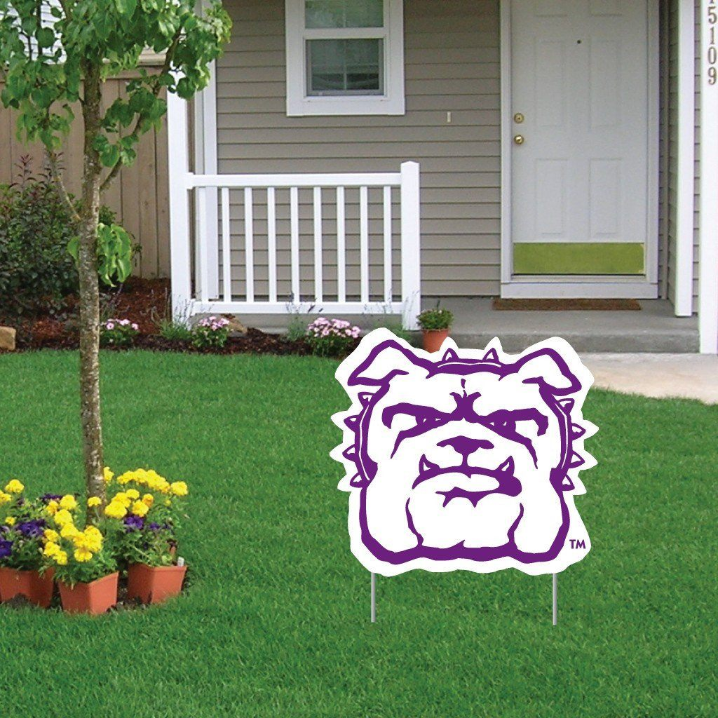 Truman State University Bulldog Shaped Plastic Yard Sign - FREE SHIPPING