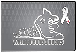 walk for a cure doormat