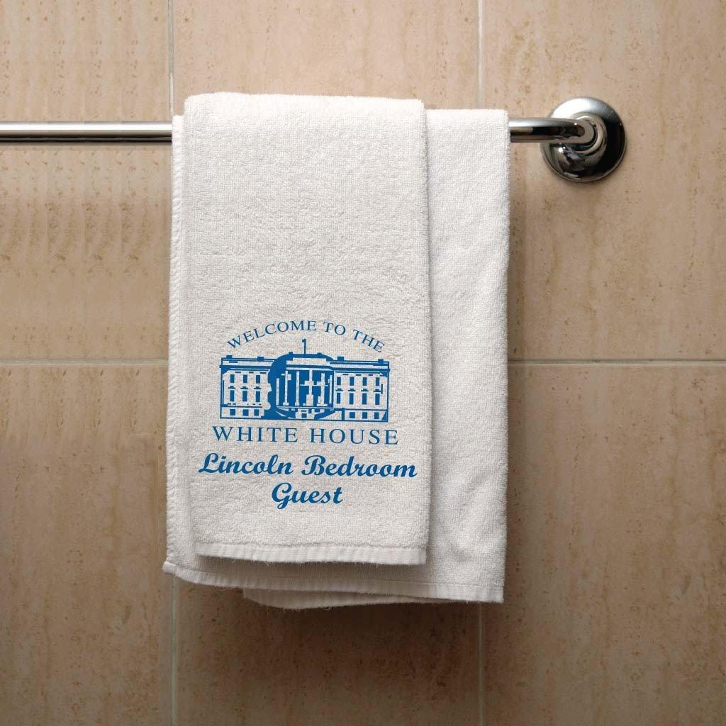 White House Lincoln Bedroom Guest Towel