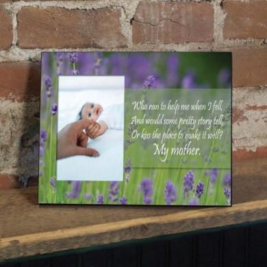 "Mother's Day ""Who Ran to Help Me..."" Picture Frame"