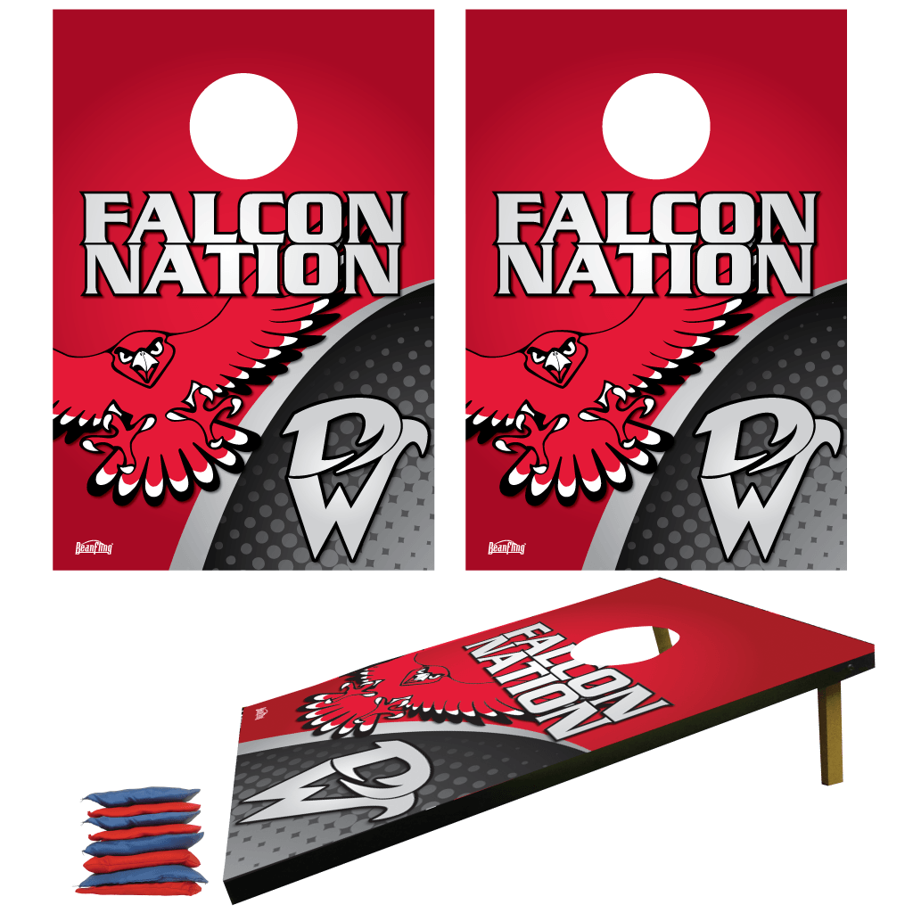 WHS Falcon Nation Bag Toss Game