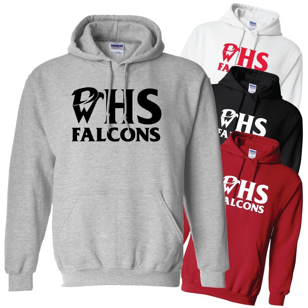 WHS Falcons Hooded Sweatshirt