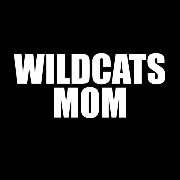 Wildcats Mom Black Folding Camping Chair with Carry Bag