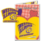 Western Illinois University 2'x3' Huge Valentine's Day Card Plus Yard