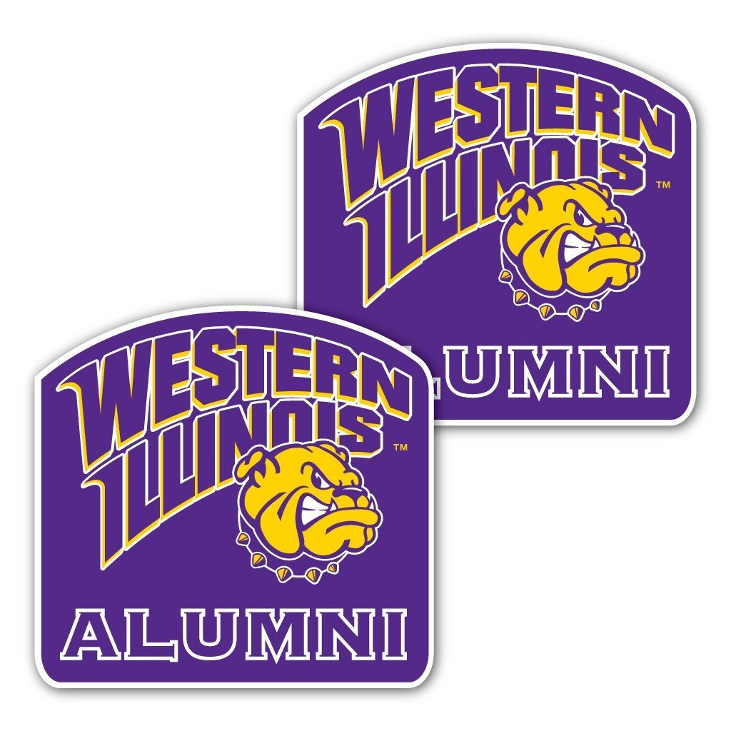 Western Illinois University - Window Decal (Set of 2) - Alumni