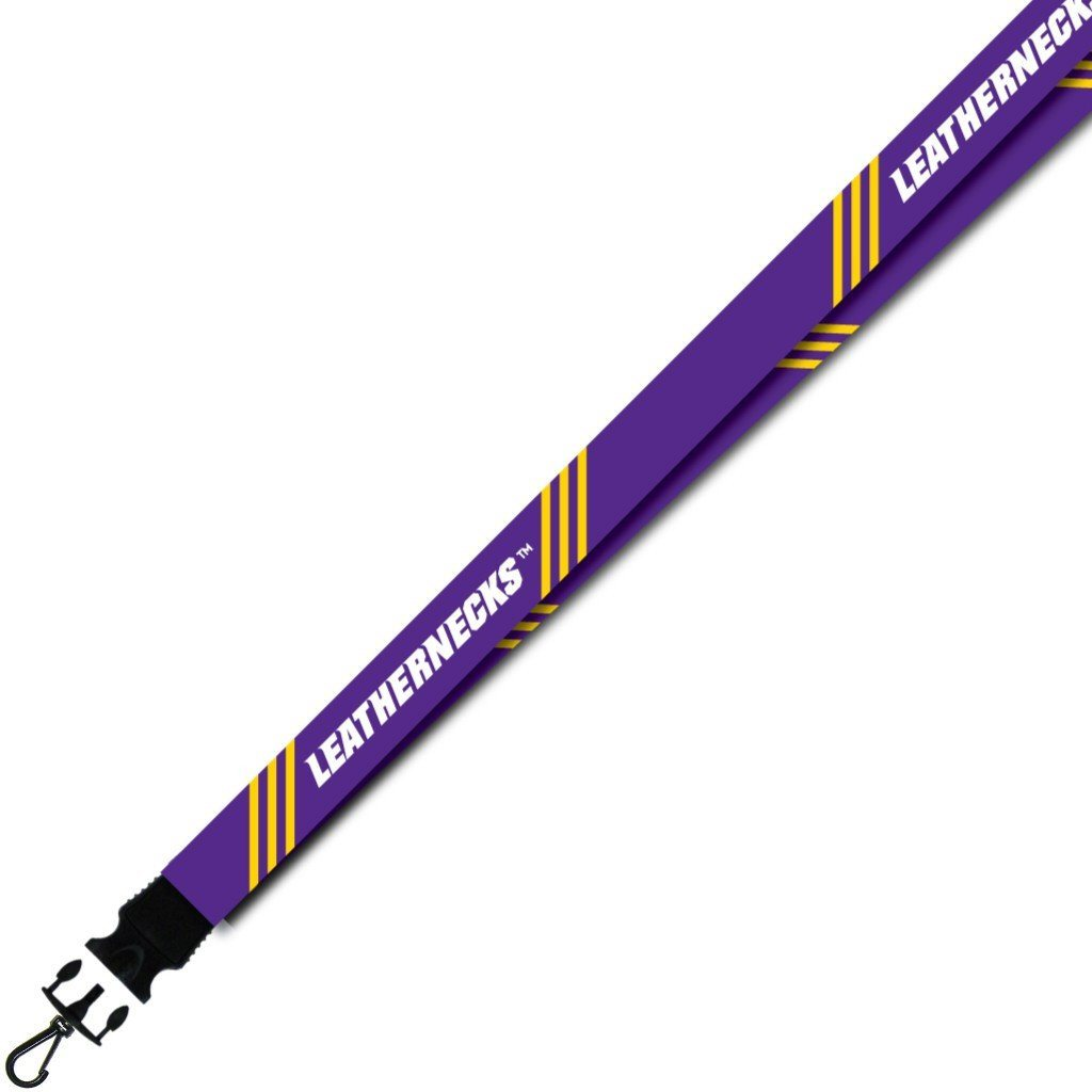 Western Illinois University - Lanyard - Stripes Design