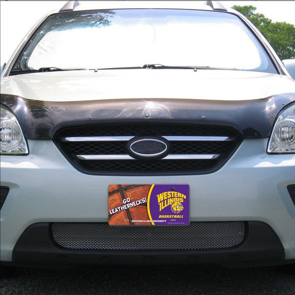 Western Illinois University - License Plate - Basketball Design