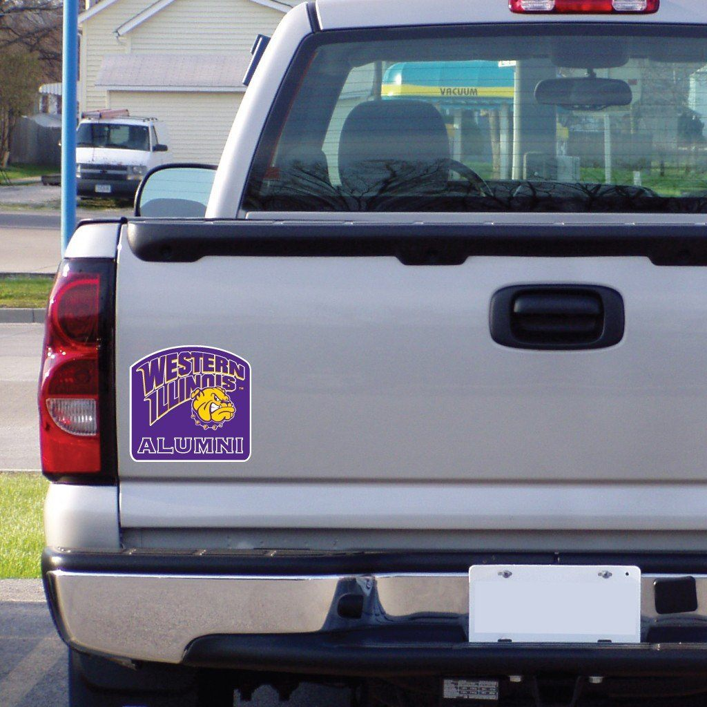 "Western Illinois "" Alumni Shaped Magnet"