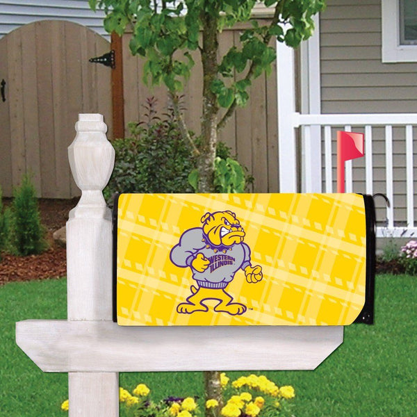 Western Illinois Magnetic Mailbox Cover (Design 2)