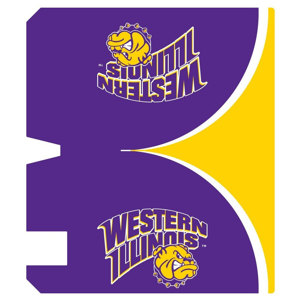 Western Illinois Magnetic Mailbox Cover (Design 3)