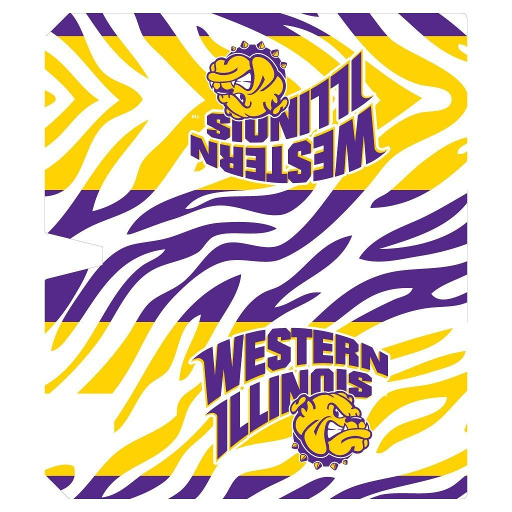 Western Illinois Magnetic Mailbox Cover (Design 4)