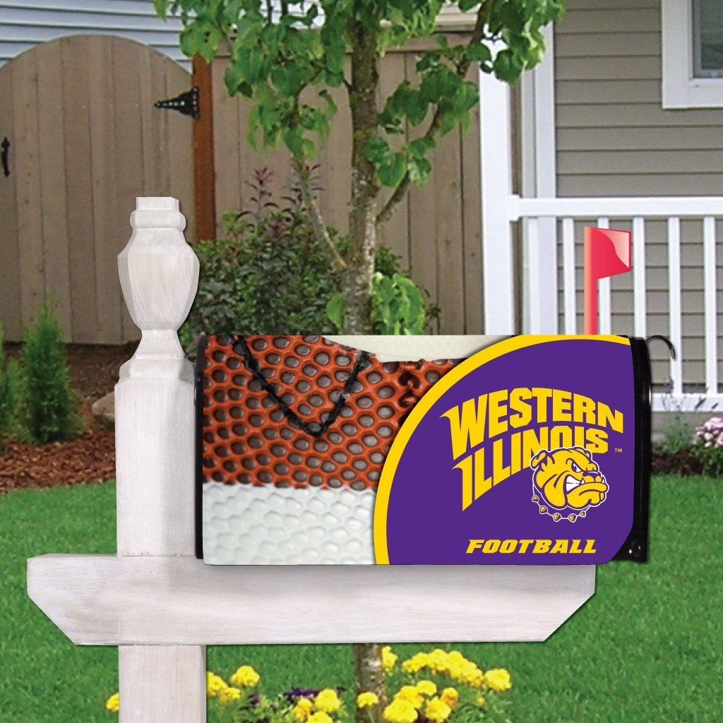 Western Illinois Magnetic Mailbox Cover (Design 5)