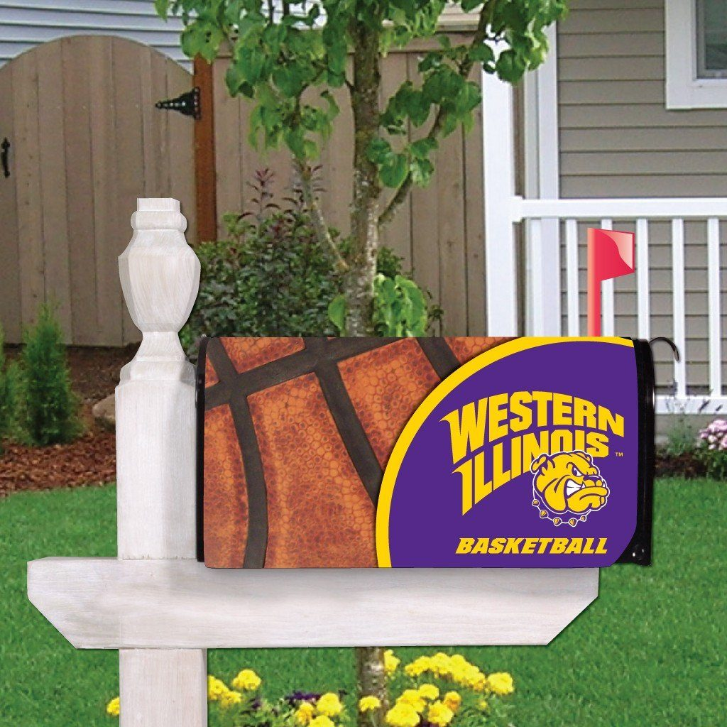 Western Illinois Magnetic Mailbox Cover (Design 6)