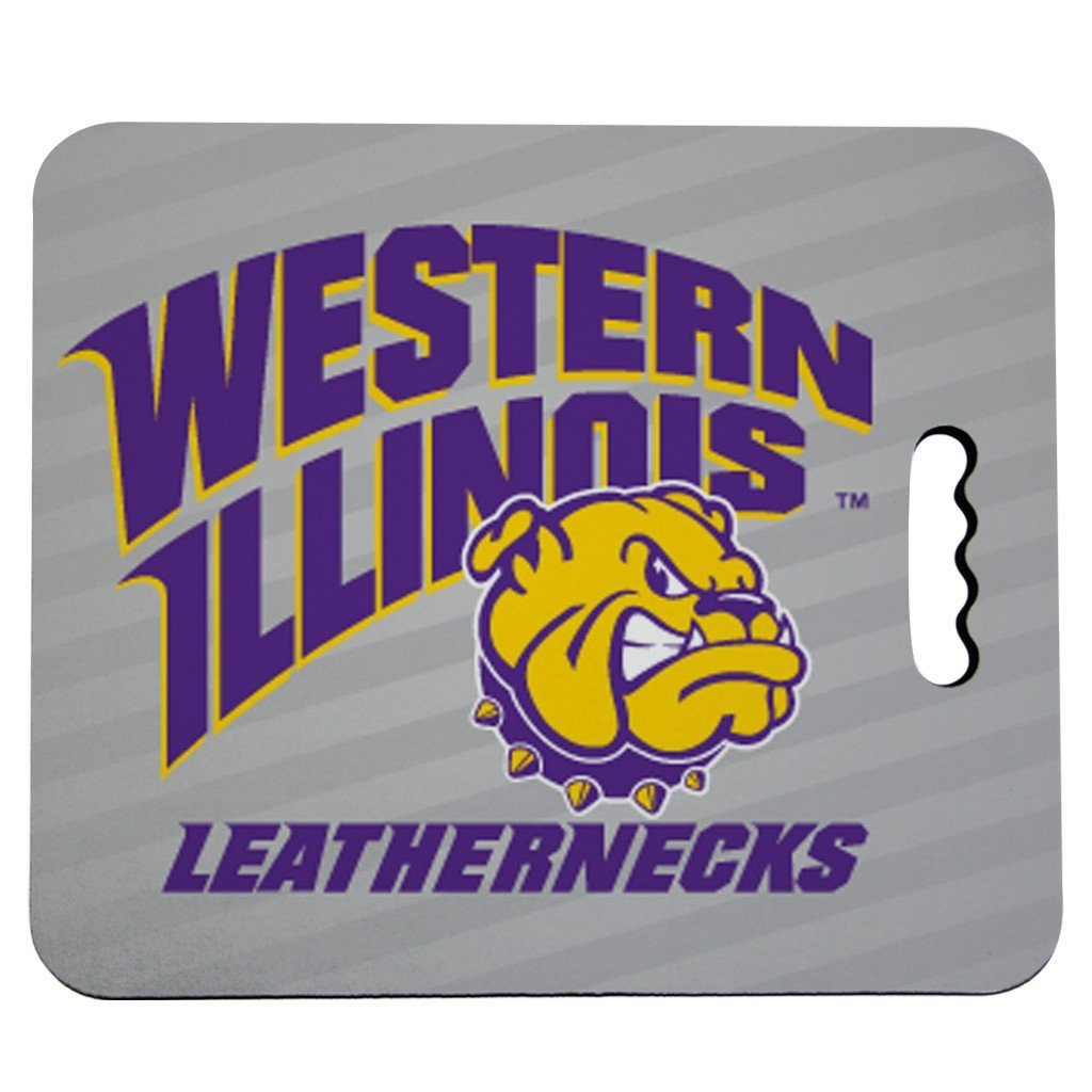 Western Illinois University Stadium Seat Cushion - Leathernecks Design