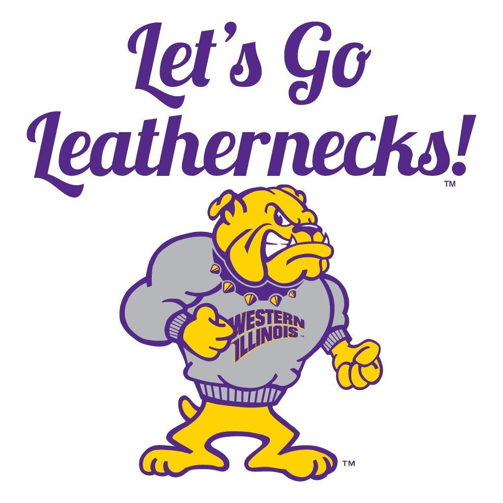 "Western Illinois University Rally Towel (Set of 3) - ""Let's Go..."""