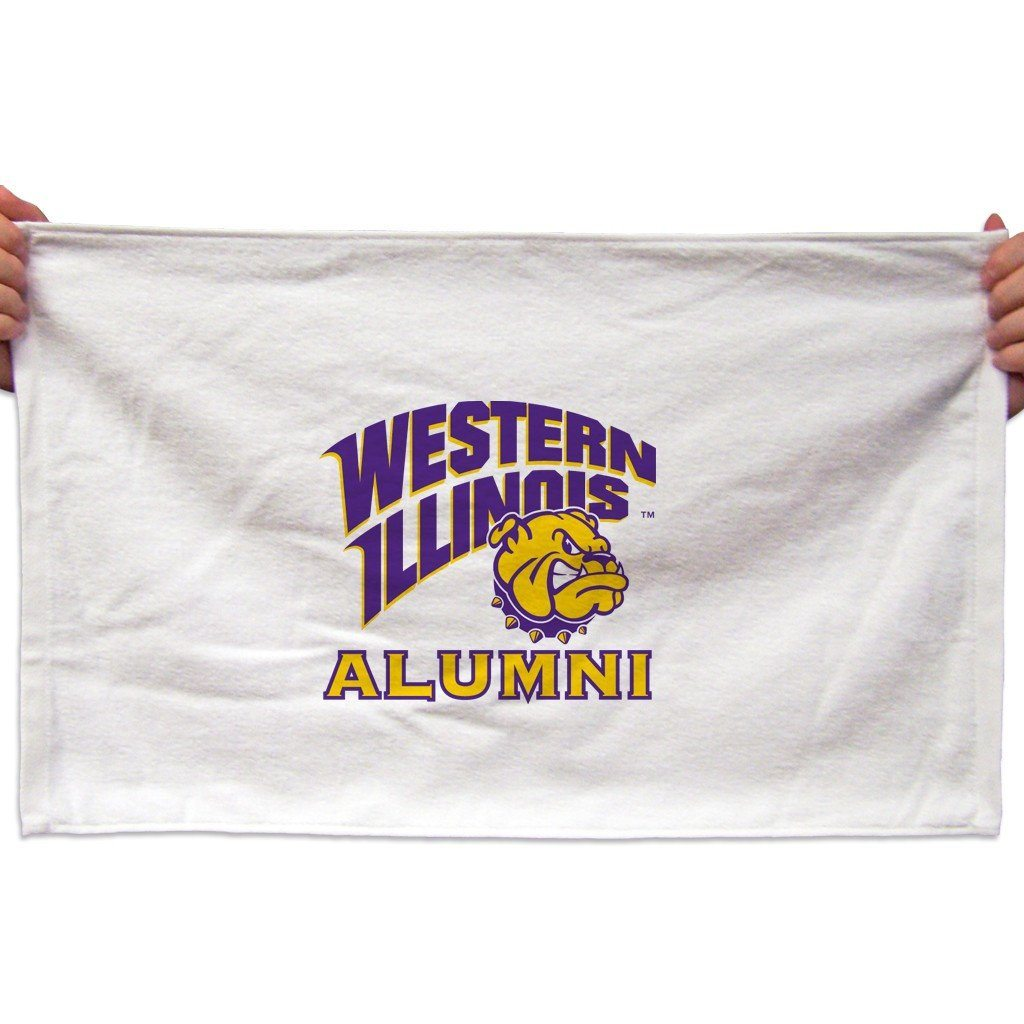 Western Illinois University Rally Towel (Set of 3) - Alumni