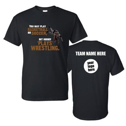Wrestling Team Motivational T-Shirt - FREE SHIPPING