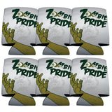 Zombie Pride Halloween Can Cooler Set of 6
