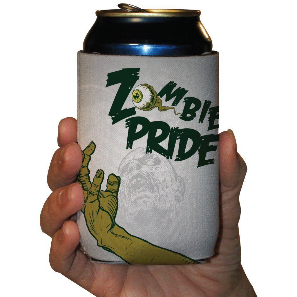 Zombie Pride Halloween Can Cooler Set of 6 - FREE SHIPPING
