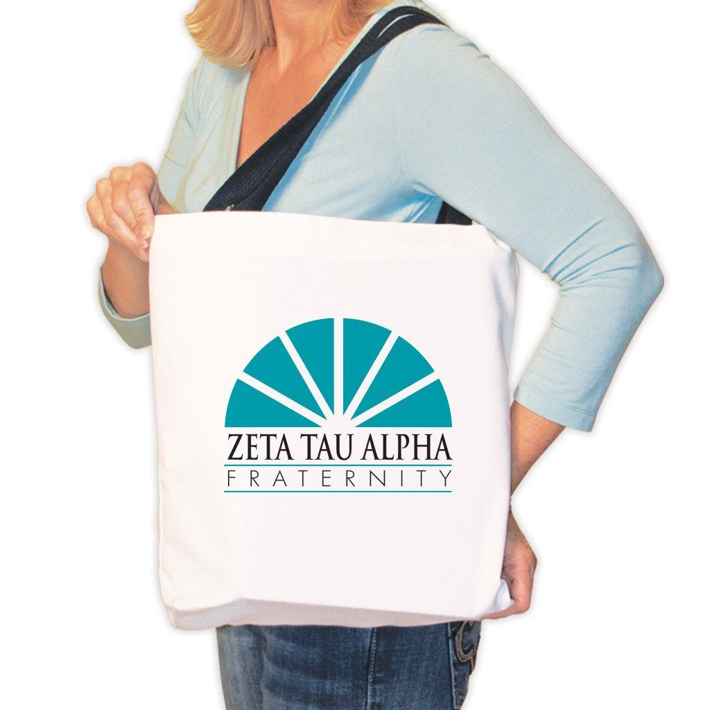 Zeta Tau Alpha Canvas Tote Bag - Logo Design