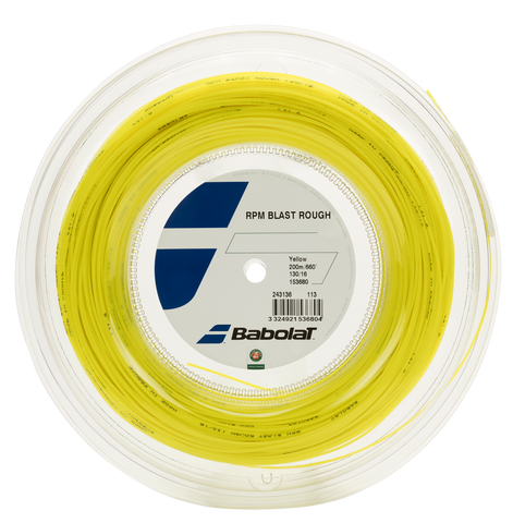 BABOLAT RPM BLAST ROUGH TENNIS STRING 660'/200M REEL