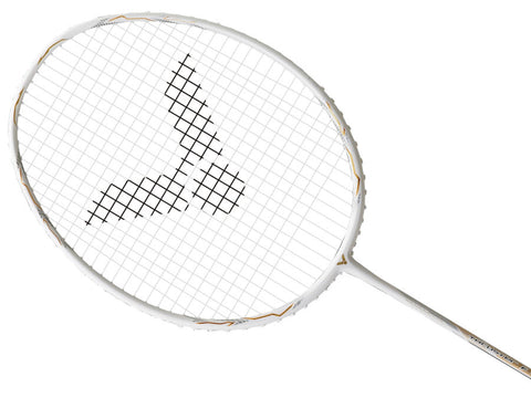 VICTOR THRUSTER F CLAW II WHITE BADMINTON RACKET