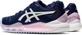 ASICS GEL RESOLUTION 8 PEACOCK/WHITE WOMEN'S TENNIS SHOE