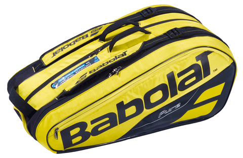 BABOLAT PURE 6 PACK YELLOW/BLACK RACKET BAG