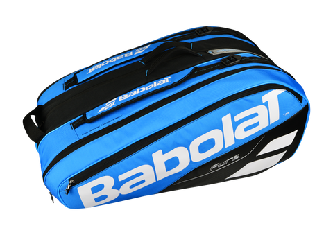 BABOLAT PURE 12 PACK BLUE/BLACK RACKET BAG