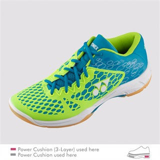 YONEX POWER CUSHION 03 BLUE/LIME MEN'S BADMINTON SHOE