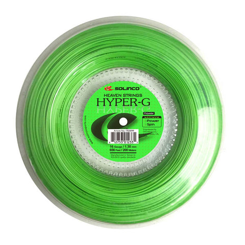SOLINCO HYPER-G (656'/200M) TENNIS STRING REEL