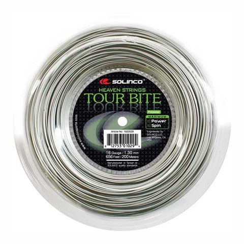 SOLINCO TOUR BITE (656'/200M) TENNIS STRING REEL