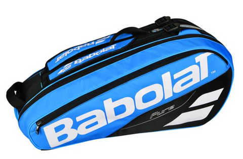 BABOLAT PURE 6 PACK BLUE RACKET BAG