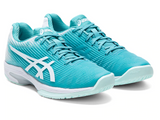 ASICS SOLUTION SPEED FF CYAN/WHITE WOMEN'S TENNIS SHOE